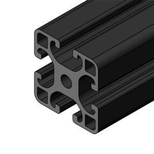 ISB aluminum profiles, black
