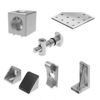 Liitososat Alumiiniprofiilijarjestelmiin